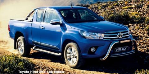 Toyota Hilux 2.8GD-6 Xtra cab Raider auto - Image credit: © 2018 duoporta. Generic Image shown.