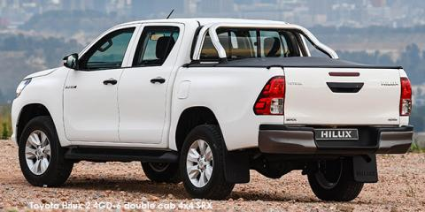 Toyota Hilux 2.7 double cab SRX - Image credit: © 2018 duoporta. Generic Image shown.