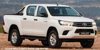 Toyota Hilux - Image credit: © 2018 duoporta. Generic Image shown.