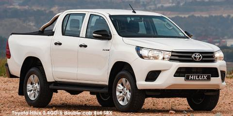 Toyota Hilux 2.4GD-6 double cab 4x4 SRX auto - Image credit: © 2018 duoporta. Generic Image shown.