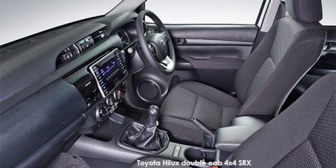 Toyota Hilux 2.4GD-6 double cab 4x4 SRX auto - Image credit: © 2018 duoporta. Generic Image shown.