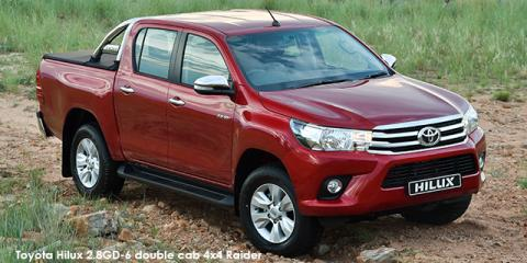 Toyota Hilux 2.8GD-6 double cab Raider - Image credit: © 2018 duoporta. Generic Image shown.