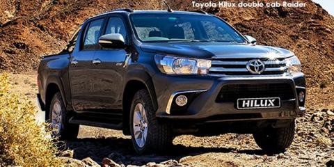 Toyota Hilux 2.8GD-6 double cab Raider auto - Image credit: © 2018 duoporta. Generic Image shown.