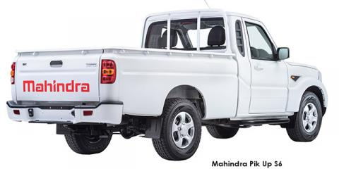 Mahindra Pik Up 2.2CRDe S6 - Image credit: © 2018 duoporta. Generic Image shown.