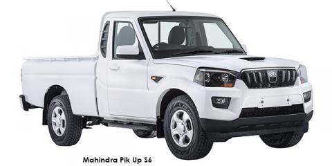 Mahindra Pik Up 2.2CRDe 4x4 S6 - Image credit: © 2018 duoporta. Generic Image shown.