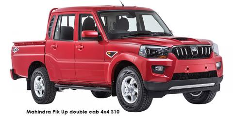 Mahindra Pik Up 2.2CRDe double cab 4x4 S10 - Image credit: © 2019 duoporta. Generic Image shown.