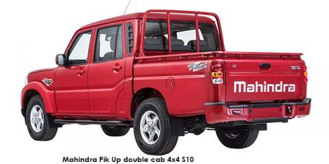 Mahindra Pik Up 2.2CRDe double cab 4x4 S10 - Image credit: © 2018 duoporta. Generic Image shown.