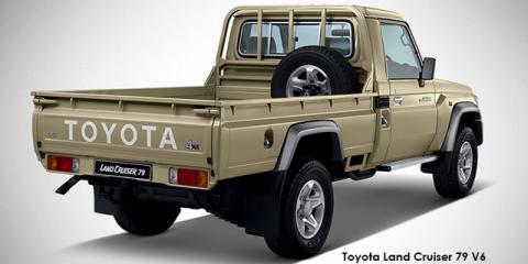 Toyota Land Cruiser 79 4.0 V6 - Image credit: © 2018 duoporta. Generic Image shown.