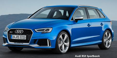 Audi RS3 Sportback quattro - Image credit: © 2018 duoporta. Generic Image shown.
