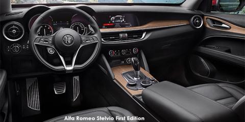 Alfa Romeo Stelvio 2.0T First Edition Q4 - Image credit: © 2019 duoporta. Generic Image shown.