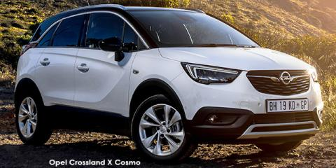 new opel crossland x 1 2 turbo cosmo auto up to r 70 542 discount new car deals. Black Bedroom Furniture Sets. Home Design Ideas
