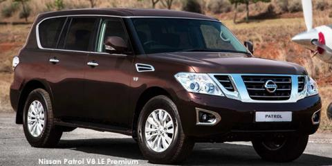 New Nissan Patrol 5 6 V8 LE Premium with up to R 201,200 discount