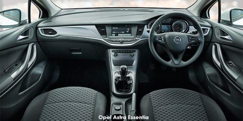 Opel Astra hatch 1.0T - Image credit: © 2018 duoporta. Generic Image shown.