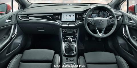 Opel Astra hatch 1.4T Sport - Image credit: © 2018 duoporta. Generic Image shown.