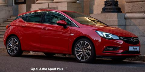 Opel Astra hatch 1.4T Sport auto - Image credit: © 2018 duoporta. Generic Image shown.