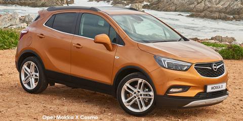 Opel Mokka X 1.4 Turbo Cosmo - Image credit: © 2018 duoporta. Generic Image shown.