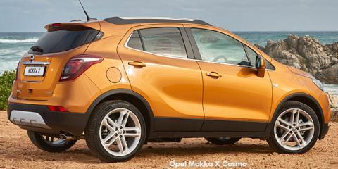 Opel Mokka X 1.4 Turbo Cosmo auto - Image credit: © 2018 duoporta. Generic Image shown.