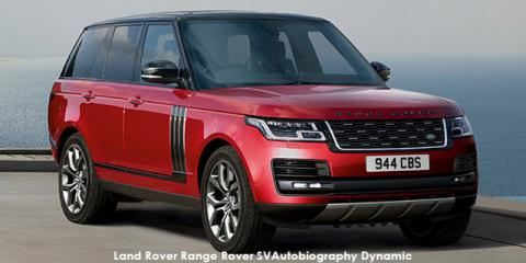 Land Rover Range Rover SVAutobiography Dynamic Supercharged - Image credit: © 2018 duoporta. Generic Image shown.