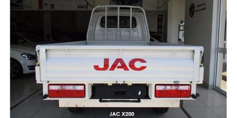 JAC X200 2.8TDi dropside - Image credit: © 2018 duoporta. Generic Image shown.