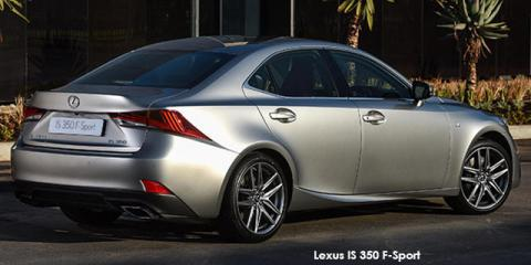 Lexus IS 350 F-Sport - Image credit: © 2018 duoporta. Generic Image shown.