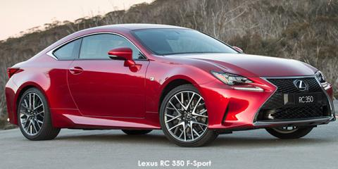 Lexus RC 350 F-Sport - Image credit: © 2018 duoporta. Generic Image shown.