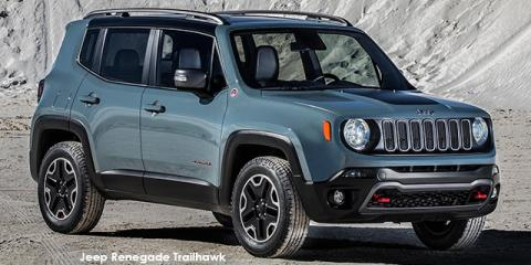 Jeep Renegade 2.4L 4x4 Trailhawk - Image credit: © 2018 duoporta. Generic Image shown.