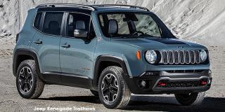 Jeep Renegade - Image credit: © 2018 duoporta. Generic Image shown.