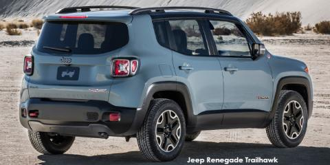 Jeep Renegade 2.4L 4x4 Trailhawk - Image credit: © 2019 duoporta. Generic Image shown.