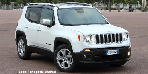 Jeep Renegade 1.4L T 4x4 Limited - Image credit: © 2018 duoporta. Generic Image shown.