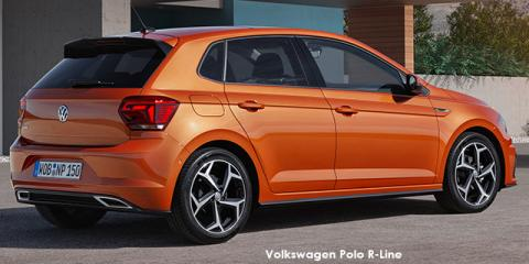Volkswagen Polo hatch 1.0TSI Comfortline R-Line auto - Image credit: © 2018 duoporta. Generic Image shown.