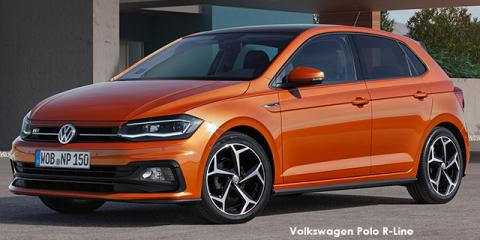 Volkswagen Polo hatch 1.0TSI Highline R-Line auto - Image credit: © 2018 duoporta. Generic Image shown.