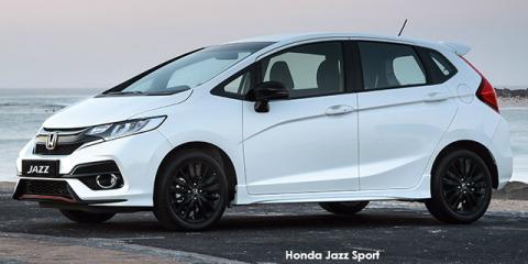Honda Jazz 1.5 Sport - Image credit: © 2019 duoporta. Generic Image shown.