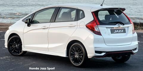 Honda Jazz 1.5 Sport - Image credit: © 2018 duoporta. Generic Image shown.