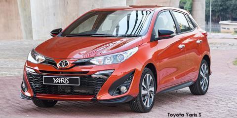 Toyota Yaris 1.5 S - Image credit: © 2018 duoporta. Generic Image shown.