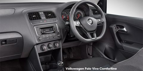 Volkswagen Polo Vivo hatch 1.4 Comfortline - Image credit: © 2019 duoporta. Generic Image shown.