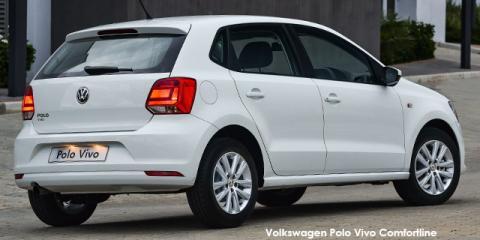 Volkswagen Polo Vivo hatch 1.6 Comfortline auto - Image credit: © 2018 duoporta. Generic Image shown.