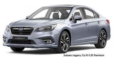 Subaru Legacy 3.6 R-S ES Premium - Image credit: © 2019 duoporta. Generic Image shown.