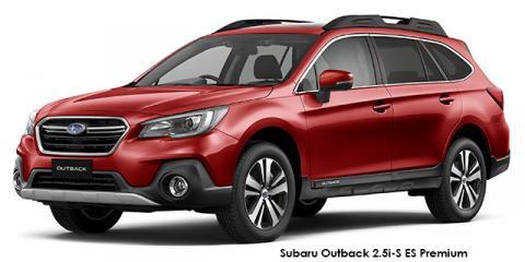 Subaru Outback 2.5i-S ES Premium - Image credit: © 2019 duoporta. Generic Image shown.