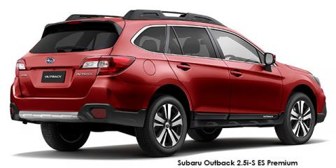 Subaru Outback 3.6 R-S ES Premium - Image credit: © 2018 duoporta. Generic Image shown.