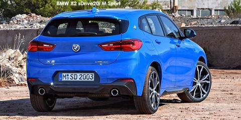 BMW X2 sDrive20i M Sport sports-auto - Image credit: © 2018 duoporta. Generic Image shown.
