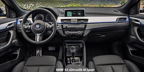 BMW X2 sDrive20i M Sport sports-auto - Image credit: © 2018 duoporta. Generic Image shown.