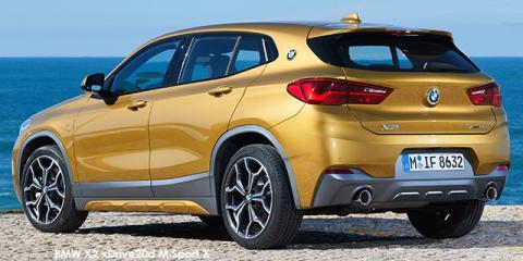 BMW X2 xDrive20d M Sport auto - Image credit: © 2018 duoporta. Generic Image shown.