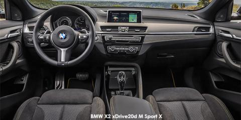 BMW X2 xDrive20d M Sport auto - Image credit: © 2019 duoporta. Generic Image shown.