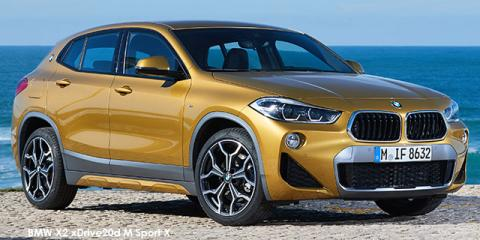 BMW X2 xDrive20d M Sport sports-auto - Image credit: © 2018 duoporta. Generic Image shown.