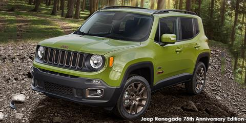 Jeep Renegade 1.4L T 4x4 Limited 75th Anniversary Edition - Image credit: © 2018 duoporta. Generic Image shown.