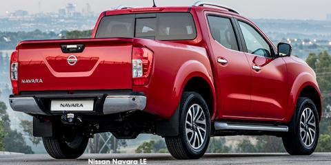 Nissan Navara 2.3D double cab LE auto - Image credit: © 2018 duoporta. Generic Image shown.