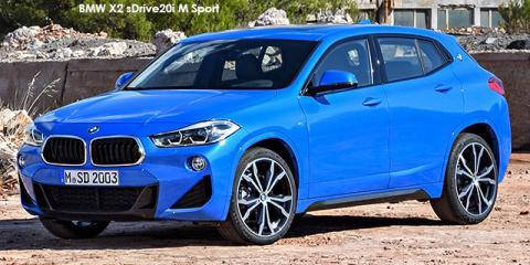 BMW X2 sDrive18i M Sport auto - Image credit: © 2018 duoporta. Generic Image shown.
