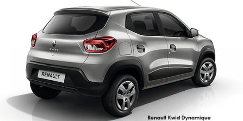 Renault Kwid 1.0 Dynamique auto - Image credit: © 2018 duoporta. Generic Image shown.