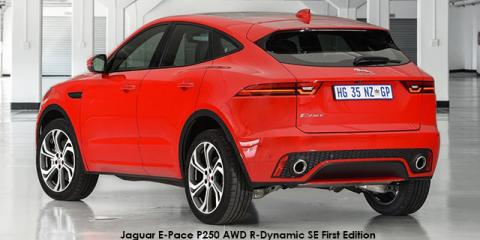 Jaguar E-Pace P250 AWD R-Dynamic SE First Edition - Image credit: © 2018 duoporta. Generic Image shown.