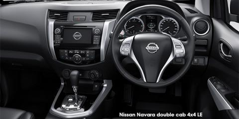 Nissan Navara 2.3D double cab 4x4 LE - Image credit: © 2019 duoporta. Generic Image shown.